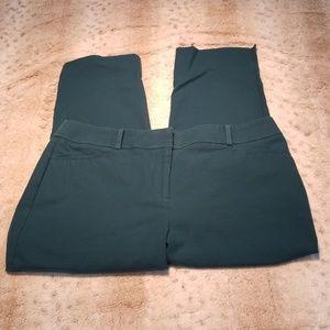 LOFT Julie Riviera Dark Tourquoise Capri Trousers